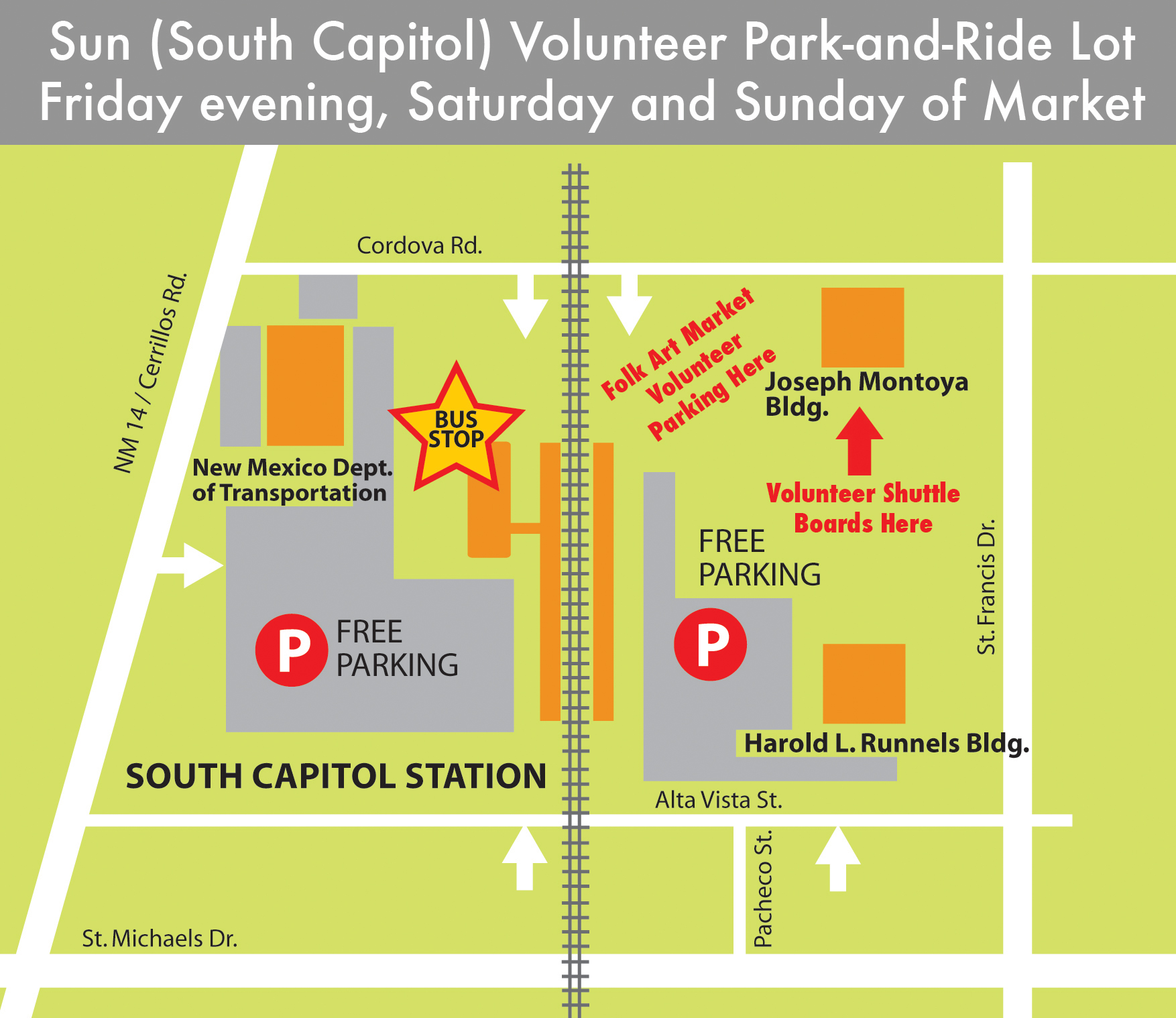 2015 Volunteer Park Ride MARKET Map