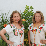 Genny Canul and Rosario Canul of Guayaberas Canul